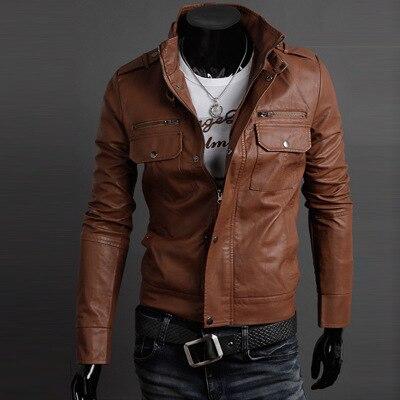 Новинка 2021, Мужская осенняя куртка из искусственной кожи, Мужская модная замшевая мужская куртка для фитнеса, мужская повседневная куртка, ...