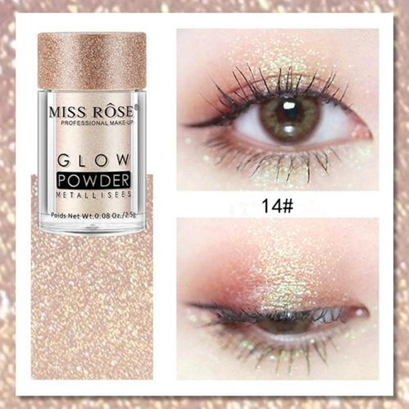 1 pc brillo mágico brillo sombra de ojos maquillaje polvo fácil desgaste de larga duración pigmento suelto maquillaje de ojos accesorios TSLM1