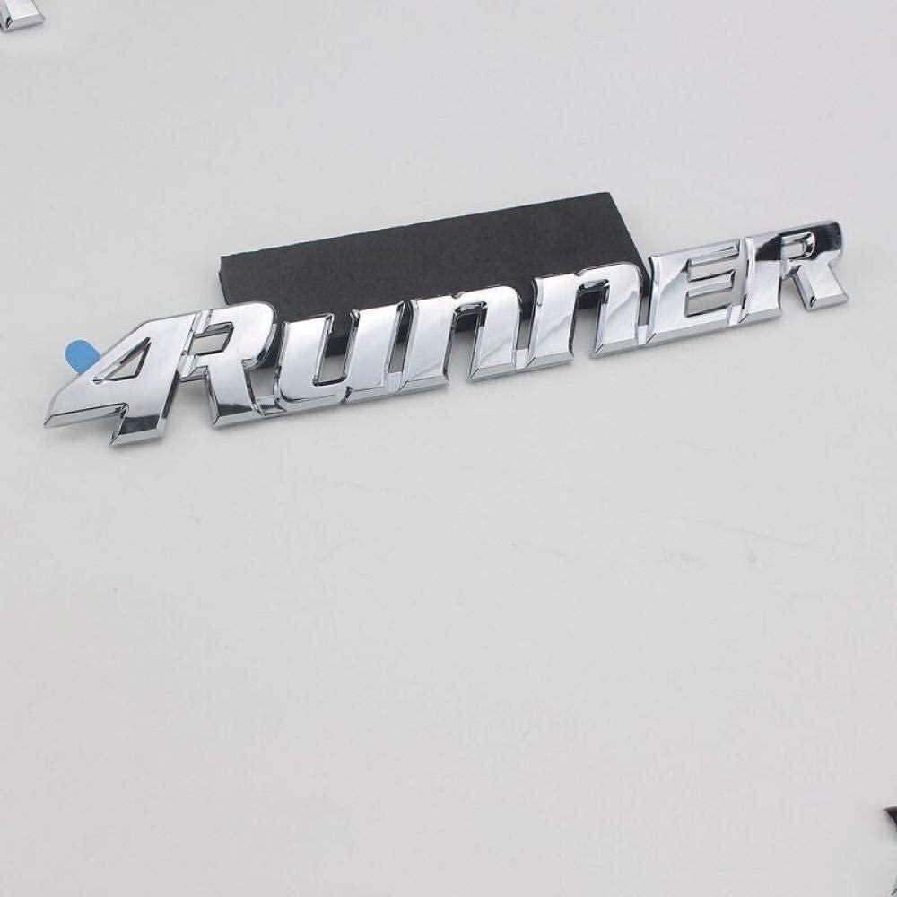 Modificación del logotipo del coche para Toyota Car ABS 4Runner Logo Sticker Pickup camión Tundra Hilux emblema insignia coche cola calcomanía de tronco