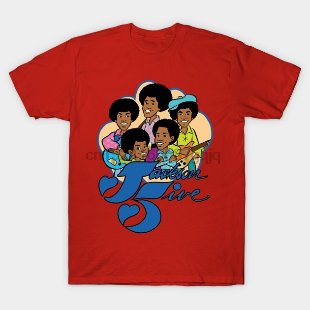 Camisa masculina t jackson 5 7070s cartoon retro estilo vintage camiseta feminina tshirt