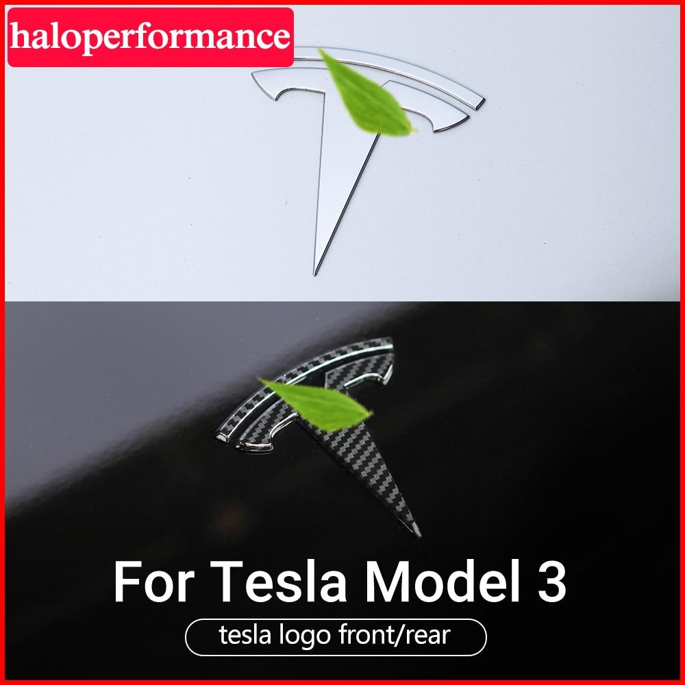 Model3 voiture accessoires Tesla autocollant Logo voiture carrosserie emblème décoration accessoires pour Tesla modèle 3 Tesla modèle S modèle Y trois