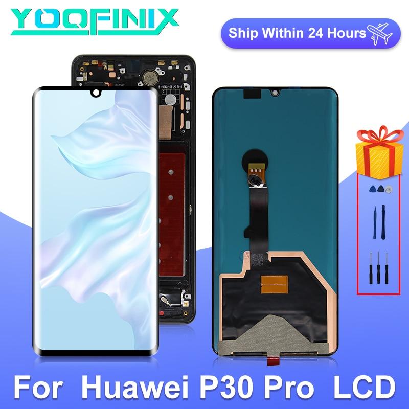 Pantalla LCD Original de 6,47 pulgadas para Huawei P30 Pro, digitalizador de pantalla táctil para P30 Pro, piezas de repuesto de pantalla de VOG-L29 LCD VOG-L04