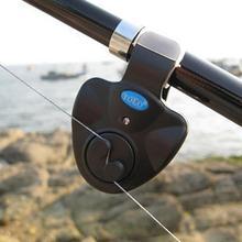 Canne à pêche à Clips électronique   Sonore, alarme sonore de la cloche, outil dalerte, canne à pêche à Clips lumineuse, alarme sonore de la morsure de poisson
