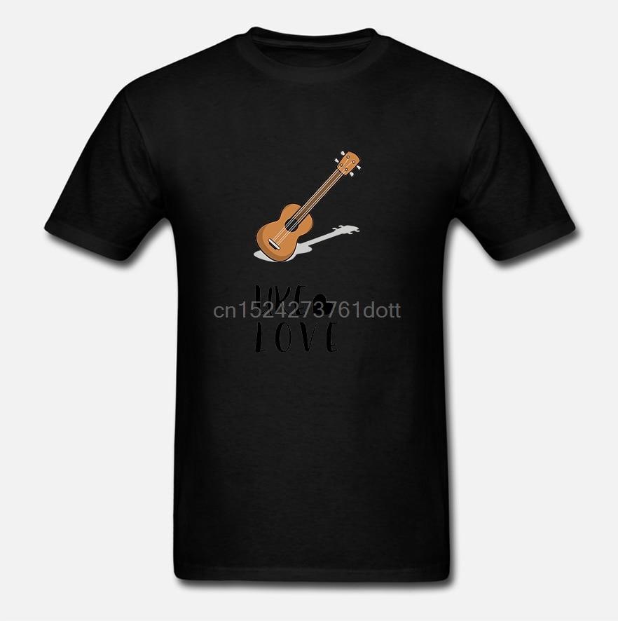 Männer t shirt Mahalo Aloha Hawaiian Akustische Ukulele Uke Liebe T-Shirt-RT Frauen t-shirts (2)
