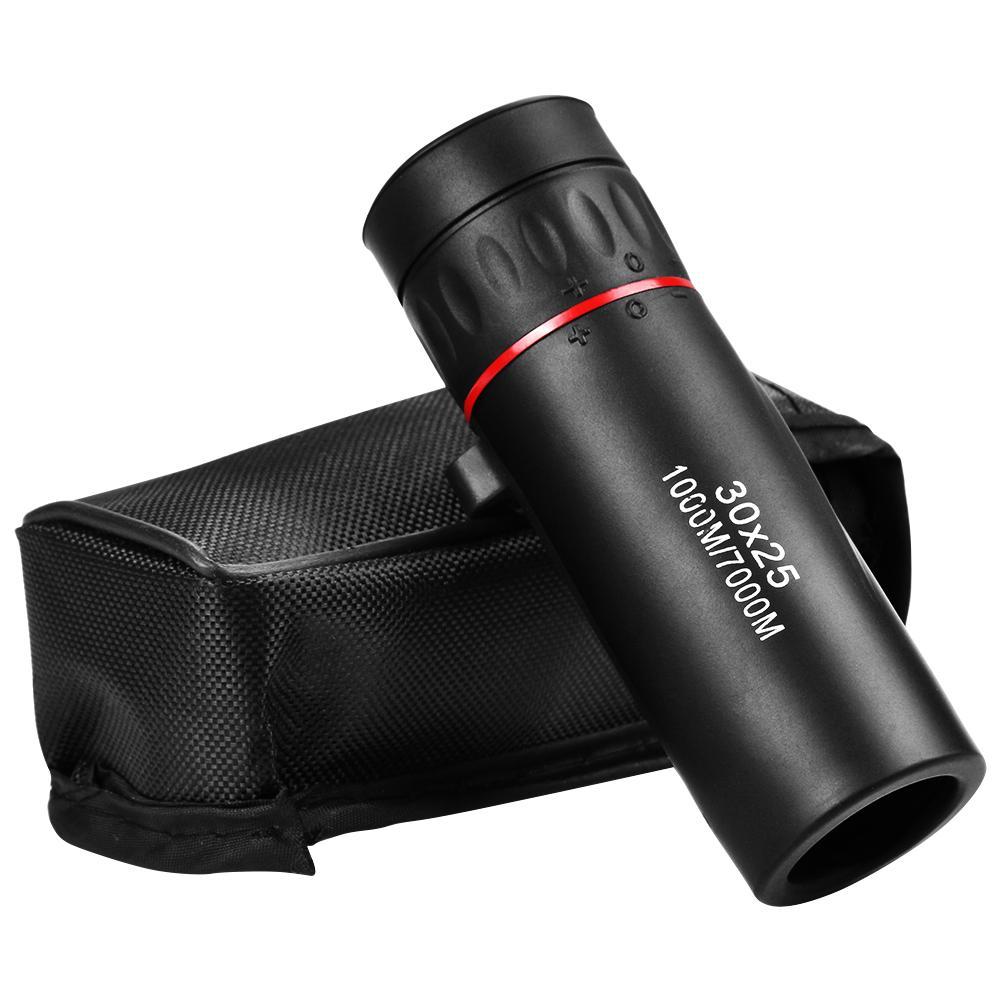 Mini Portable Zoom Scope 30x25 Monocular Telescope Lens Lightweight Mobile Phone Lense for Travel Hu