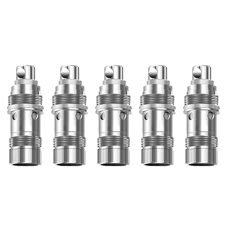 катушка индуктивности jantzen iron core coil discs 21 awg 0 70 mm 5 100 mh 0 730 ohm 5 Pcs/Box Replacement Atomizer Coil Heads for Aspire Nautilus 2S 0.4/0.7 Ohm