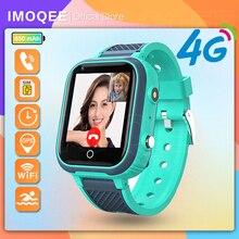 New Smart Watch Kids GPS 4G Wifi Tracker Waterproof Smartwatch Kids Video Call Phone Watch Call Back