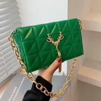 small pu leather chain crossbody bags for women 2021 winter tassel shoulder bag female purses and handbags luxury designer sac