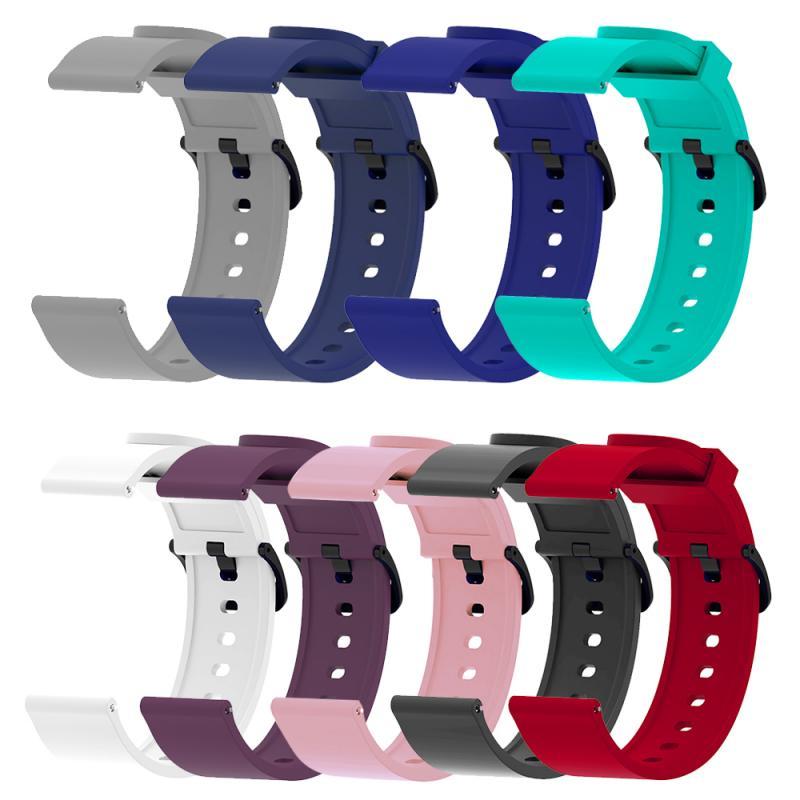 Correa de silicona para Xiaomi Huami Amazfit Bip, repuesto de correa de silicona de 20mm para relojes inteligentes, accesorios para pulsera TXTB1