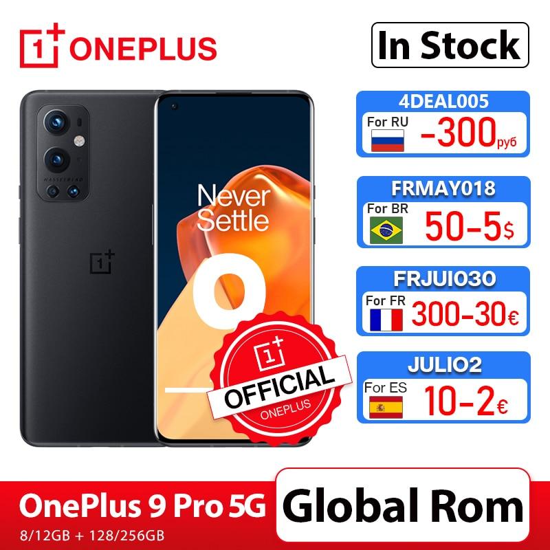 هاتف ذكي OnePlus 9 Pro 5G 8GB 128GB Snapdragon 888 120Hz عرض السوائل 2.0 Hasselblad 50MP متجر ون بلس الرسمي الواسع