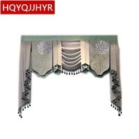 high end custom valance used on the top of the curtain can be customized to any size required for the living room bedroom hotel