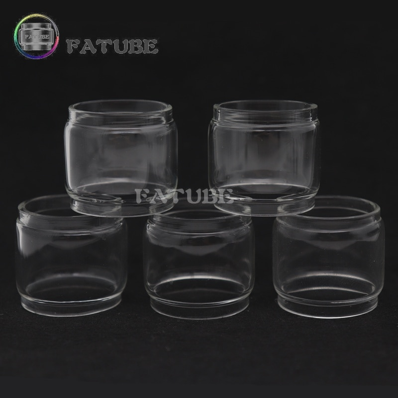 5pcs FATUBE bubble glass tubes Cigarette Accessories for Glass Tube for Geekvape Creed RTA 6.5ml