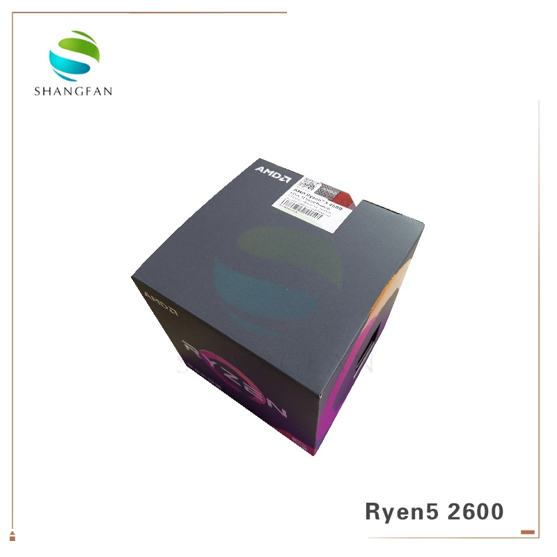 AMD Ryzen 5 2600 R5 2600 3.4 GHz Six-Core Twelve-Core 65W CPU Processor YD2600BBM6IAF with cooler cooling fan Socket AM4