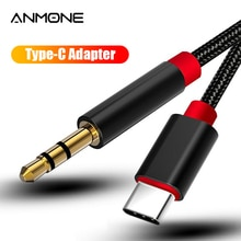 USB Type C To 3.5mm AUX Audio Cable Speaker Earphone USB C Jack Adapter Car Aux Music Cord Audio Out
