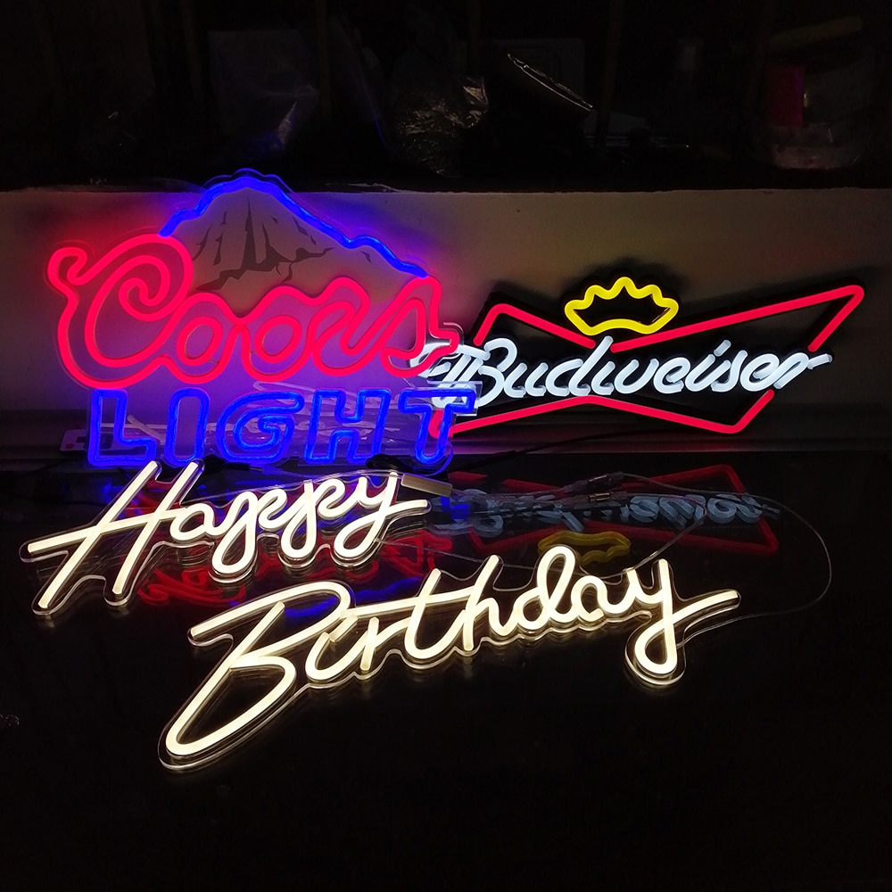 20% 27% 27 Budweiser King Beer Bar Pub Club Ad Light Sign Home Decor Crafts LED Neon Light Sign Custom Neon Led Свет