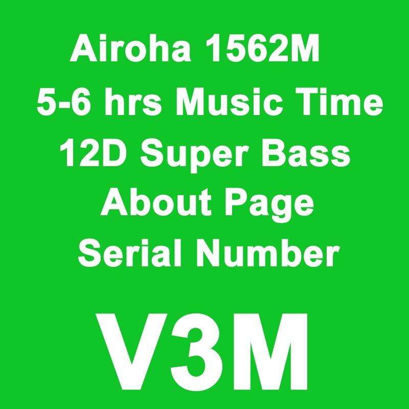 Airoha 1562m AP2 tws auricular bluetooth 5,2 2 Número de serie i500...
