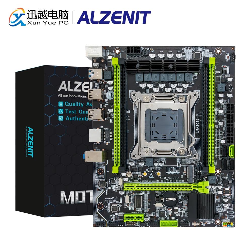 ALZENIT X79 Set X79M-CE5 Motherboard LGA 2011 Combo Xeon E5-2650 V2 CPU 4x4GB = 16GB DDR3 1600MHz Memory ECC REG RAM
