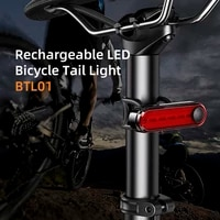 bicycle accessory compact portable bike taillight with high brightness weimean btl01