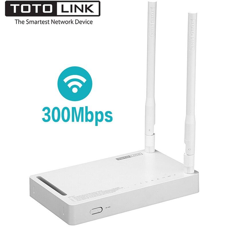 TOTOLINK-راوتر لاسلكي طويل المدى N300RH V4 ، 300 ميجابت في الثانية ، مع هوائيات إشارة 2 × 11 ديسيبل ، مكرر wi-fi قوي 2.4 جيجاهرتز ، البرامج الثابتة الإنجليزية