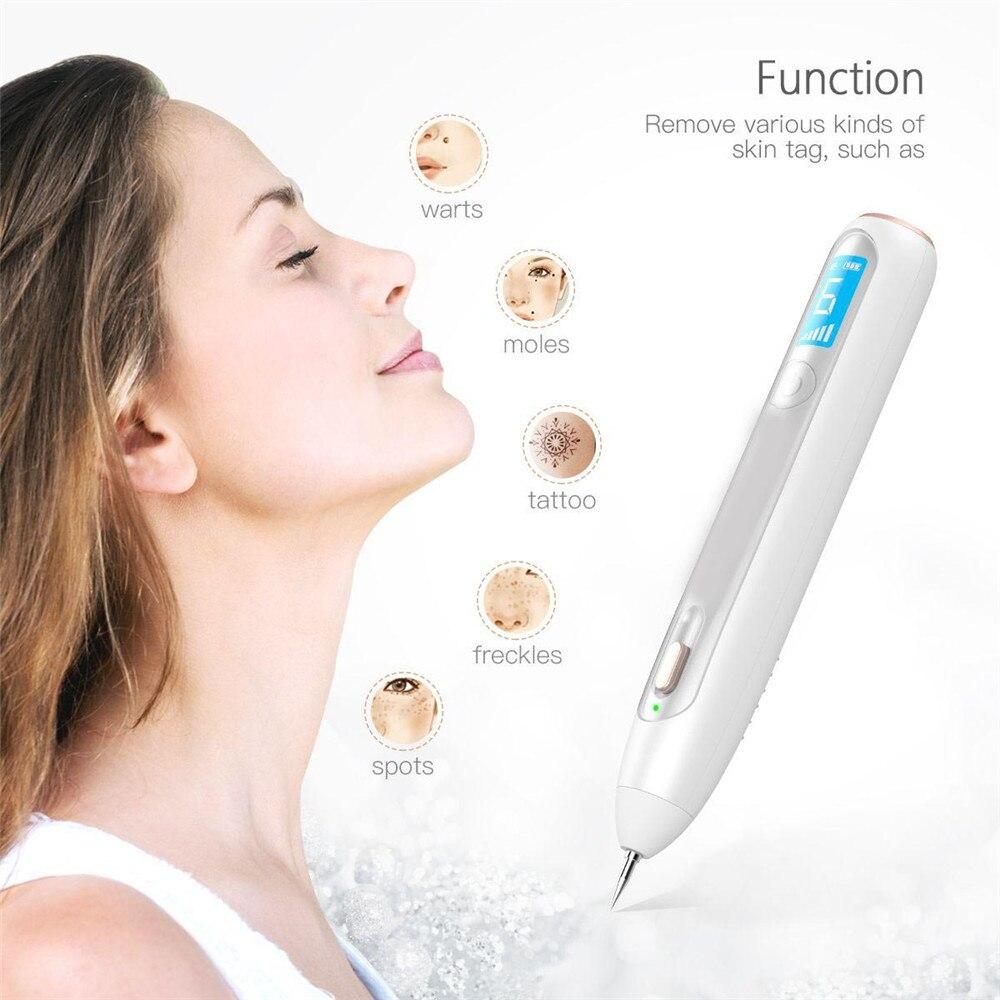 المهنية الرئيسية قلم بلازما LCD ليزر قلم بلازما مزيل الثؤلول الخلد مزيل الوشم آلة الجلد العلامة إزالة بقعة الأنظف