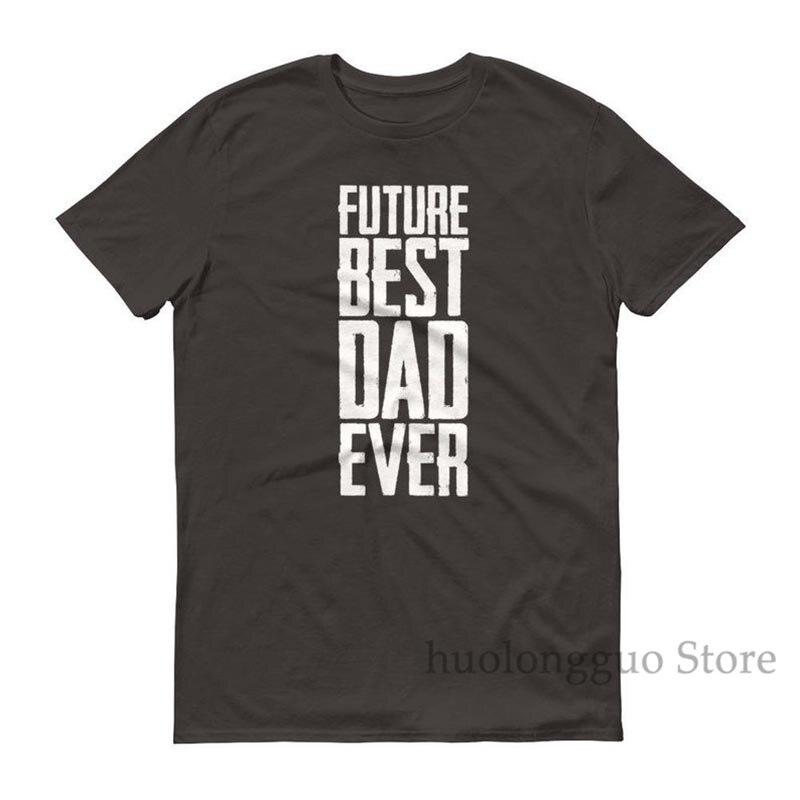 Camiseta de papá del futuro de los hombres mejor papá nunca camiseta de papá para ser regalo futuro mejor papá regalos de camisa de Papá siempre futuro