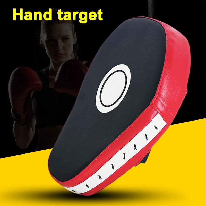1pc PU Hand Target 5 Fingers Mitt Focus Punching Pad for Karate Boxing Thai Martial XR-Hot