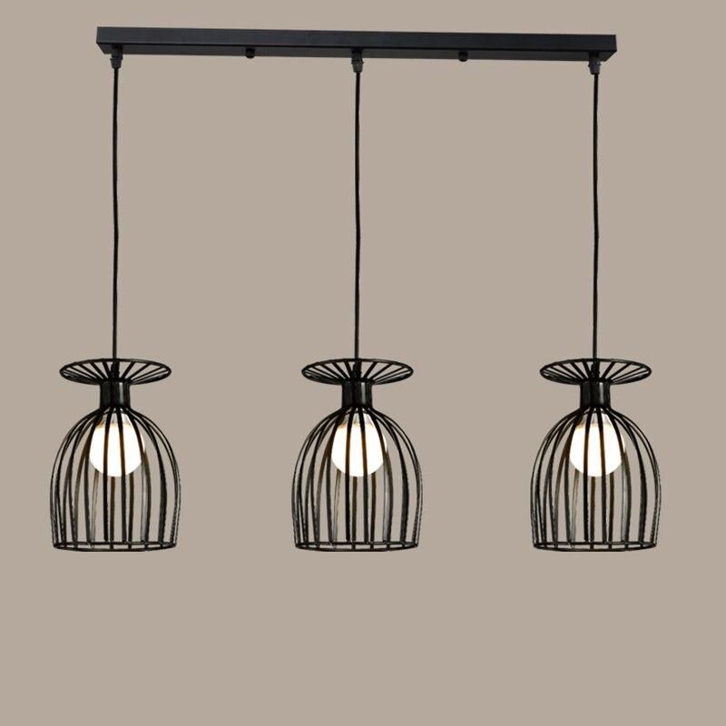 Lámparas de techo americanas para restaurante, comedor, lámpara de techo moderna, lámparas industriales de techo, accesorios de iluminación