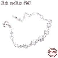 2021 fashion jewelry high quality zircon inlaid round bracelet charming womens bracelet