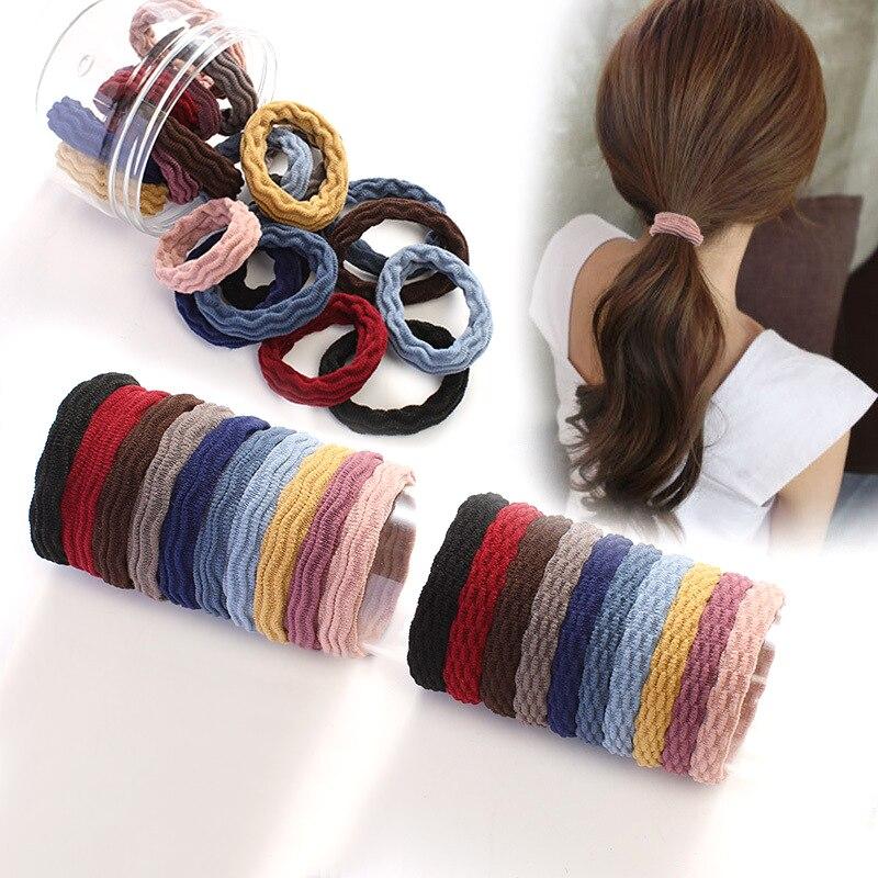 AliExpress - 10pcs high Elastic Hair Band Zhafa hair ring Korean version of the wild headdress Hair accessories female rubber band head rope