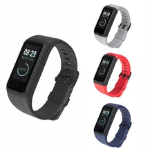 Fashion Sport Man Silicone Strap Bracelet smart Watch Band Buckle Wristbands Accessories for Huami M