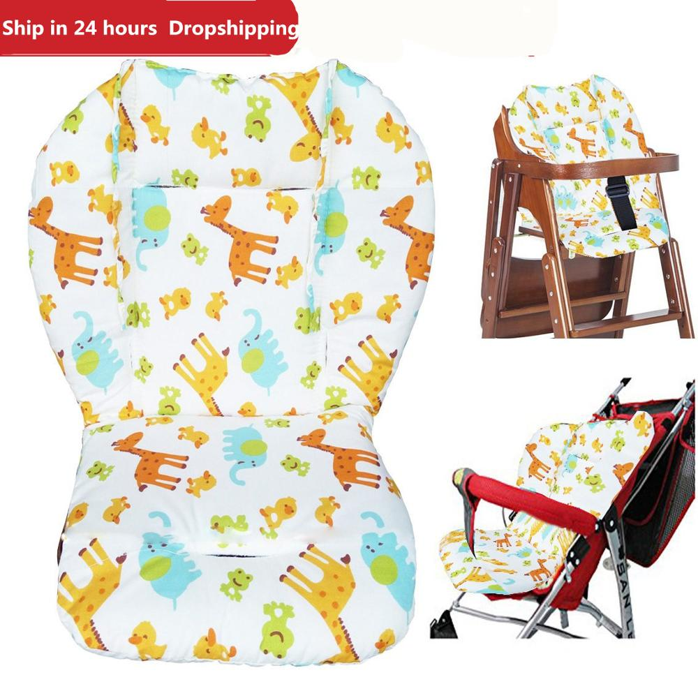 Cotton Warm Baby Stroller Cushion Dining Chair Matress Winter Carriage summer mat Universal Stroller Accessory For Four seasons