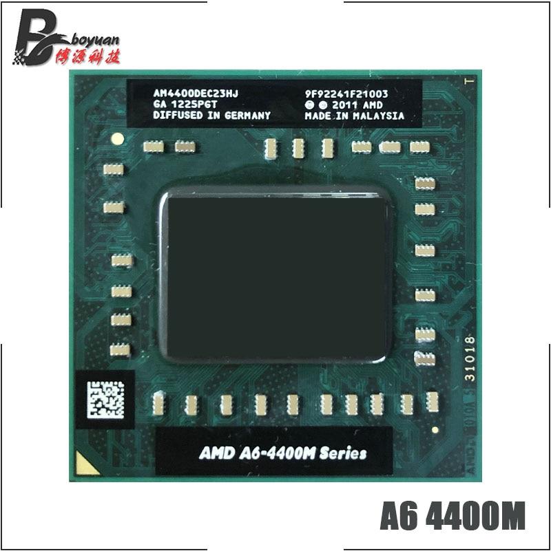 AMD A6-Series A6-4400M A6 4400M 2,7 GHz Dual-Core Dual-Hilo de procesador de CPU AM4400DEC23HJ hembra FS1