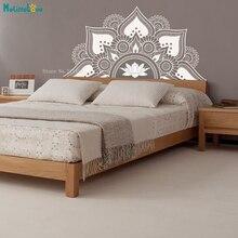 Lotus Mandala stickers muraux demi motif Om Namaste Yoga décor décalcomanies belle maison Art peintures murales vinyle YT4094