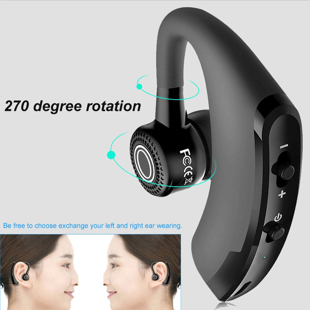 V9 Wireless Bluetooth 4.1 Headset Sports Headphone Handsfree Earphone Universal Bluetooth Sports Bass Earbuds with Mic enlarge