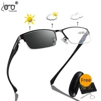photochromic reading glasses sunglasses with diopters men women tr90 temple eyewear optical spectacles 0 56 00