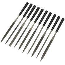 10 pièces aiguilles en métal fichiers pour verre pierre bijoutiers diamant sculpture sur bois artisanat couture main fichiers outil ménage outils à main