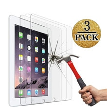 3pcs 9h Hd Tempered Glass Screen Film Protector For Ipad Pro 9.7 Inch Mobile Phone Screen Tempered P