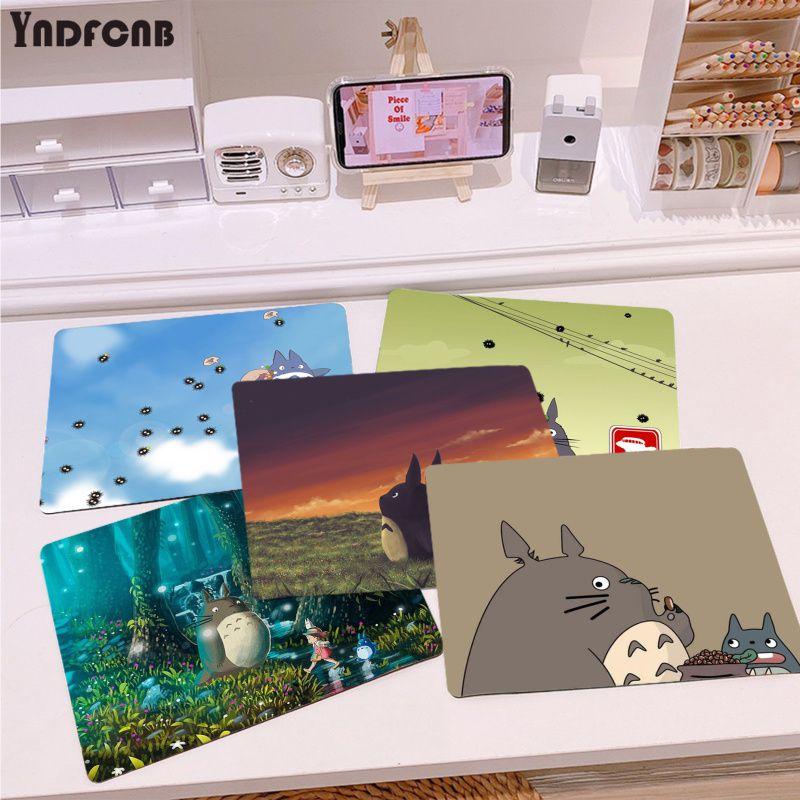 YNDFCNB простой дизайн Мой сосед Тоторо DIY дизайн игровой с узором коврик для мыши Гладкий коврик для письма настольные компьютеры мат игровой ...