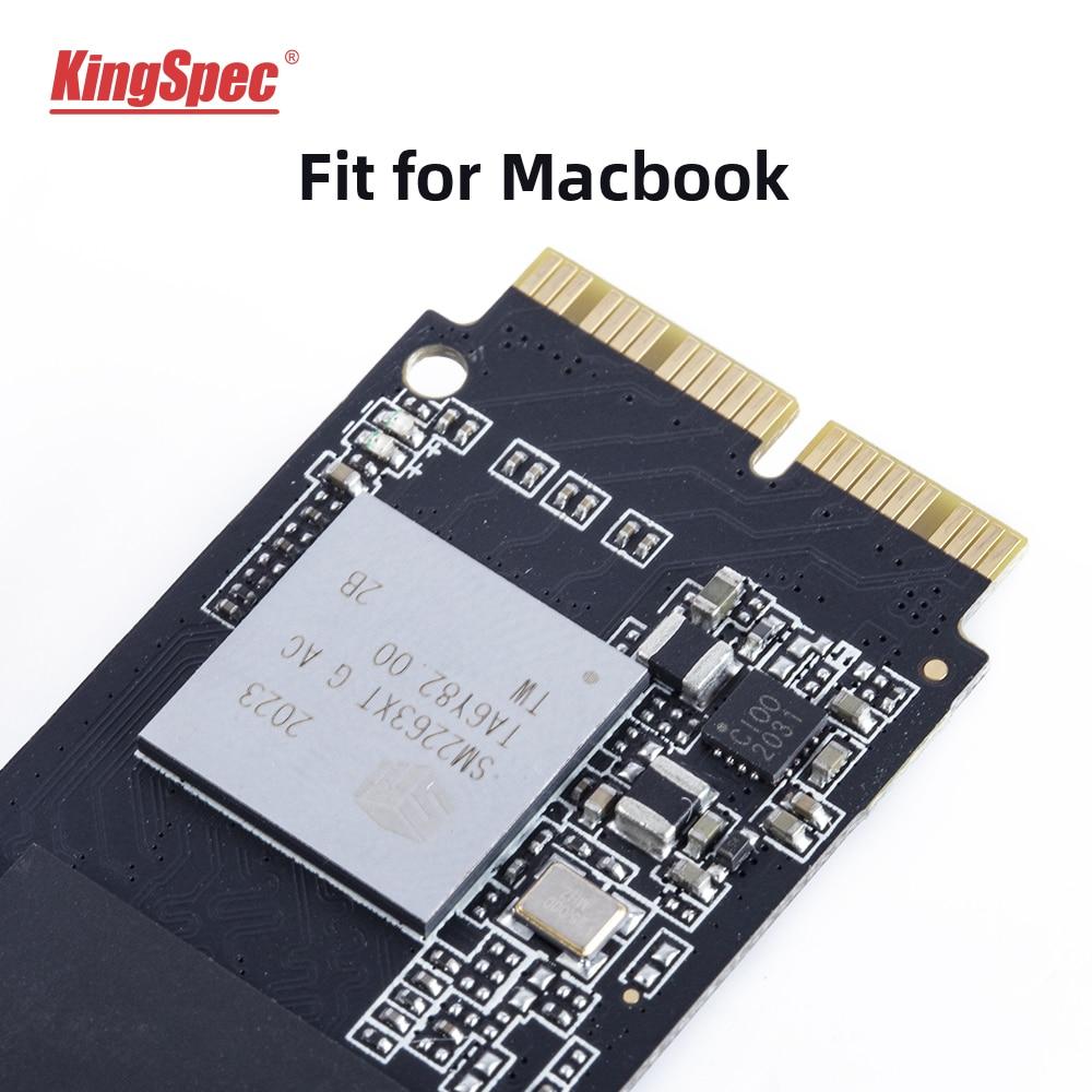 Kingspec 256GB 512GB 1TB M2 PCIe NVME SSD For 2013 2015 Macbook Pro Retina A1502 A1398 Macbook Air A1465 1466 SSD iMac A1419 SSD
