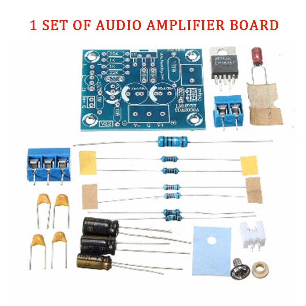 20 Вт LM1875T интегральные схемы моно канальный аксессуары динамик часть аудио усилитель плата комплект HiFi стерео модуль Замена