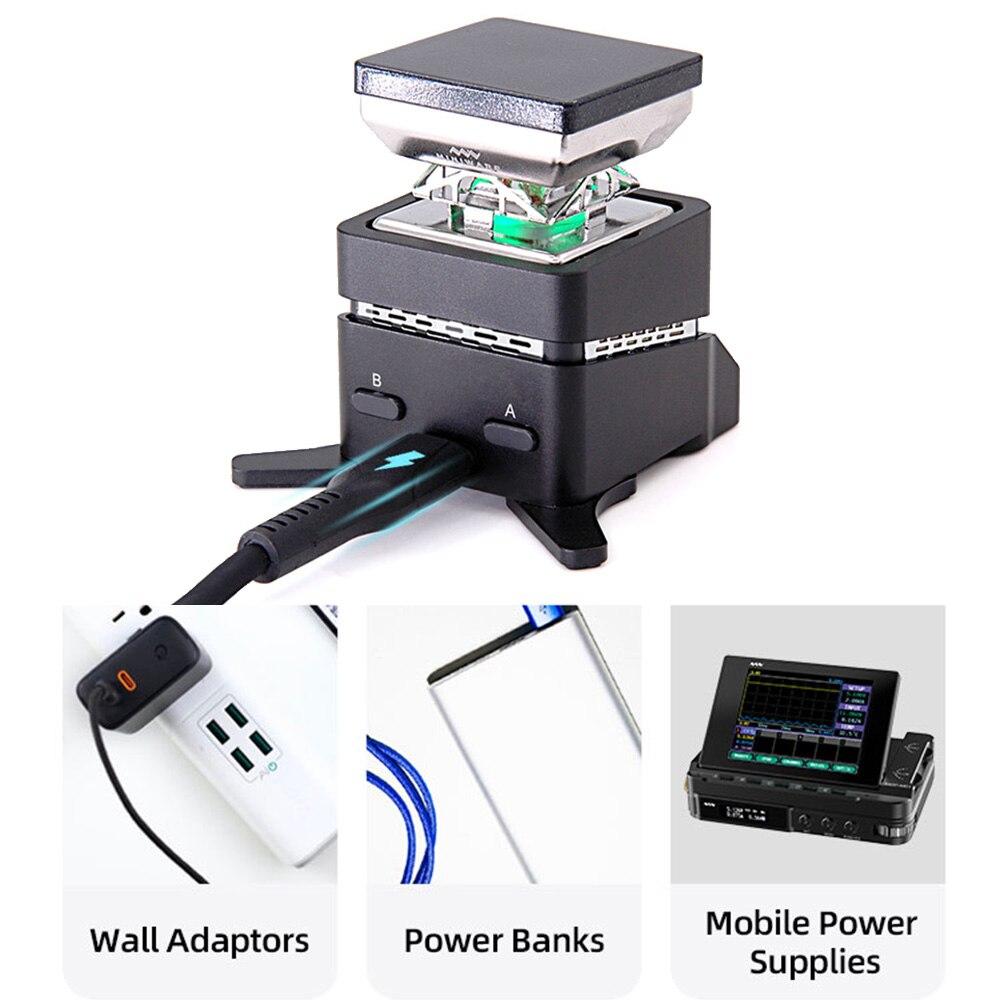 Minidso الساخن لوحة التسخين درجة حرارة ثابتة صغيرة 30x30 مللي متر التدفئة منطقة الهاتف المكونات الرقمية إصلاح لوحة التدفئة أدوات