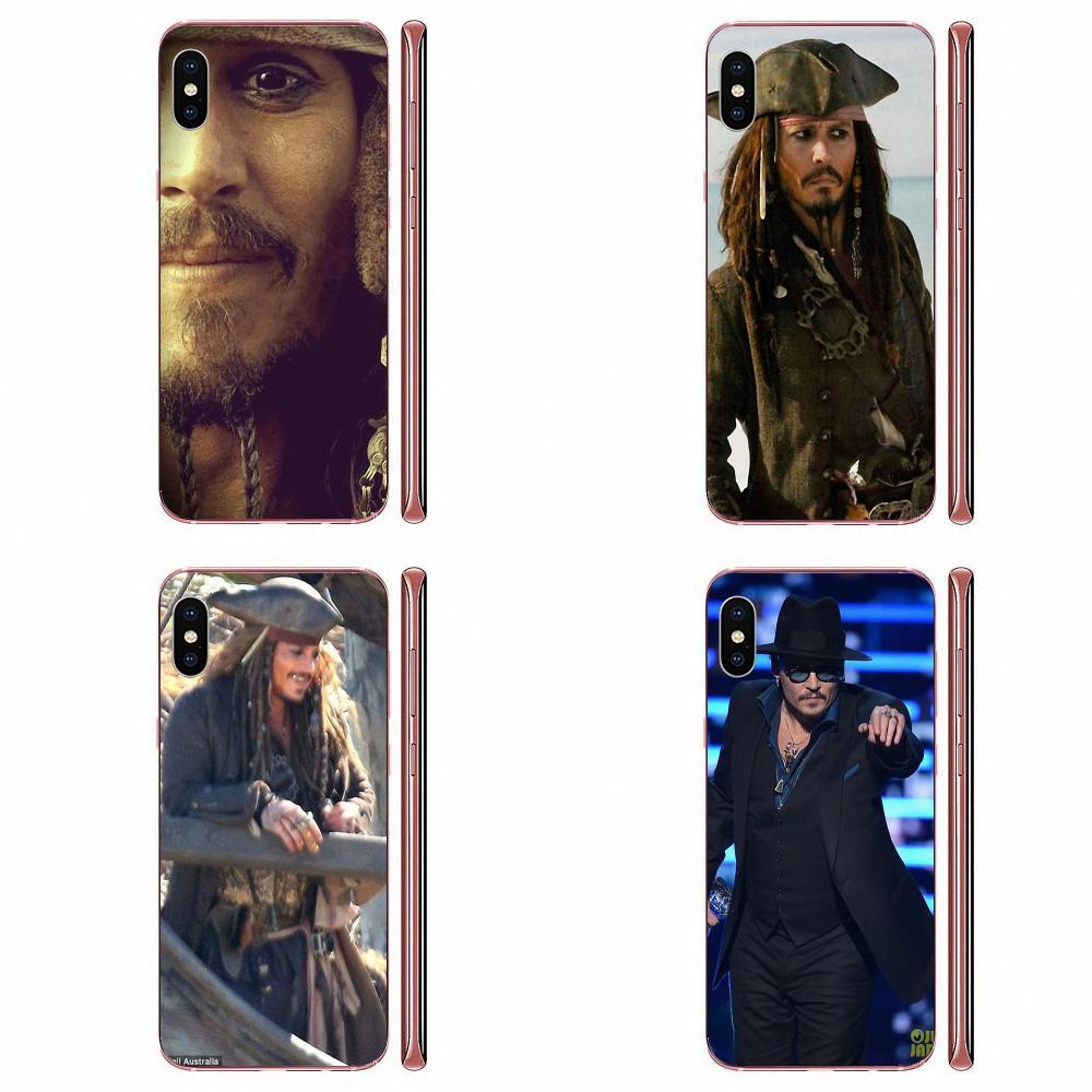 Top Detalhado Popular Barato Por Atacado A Vida É UMA Piada de Johnny Depp Para Samsung Galaxy S9 S10 S20 Plus Ultra S6 s7 S8 Borda Mais