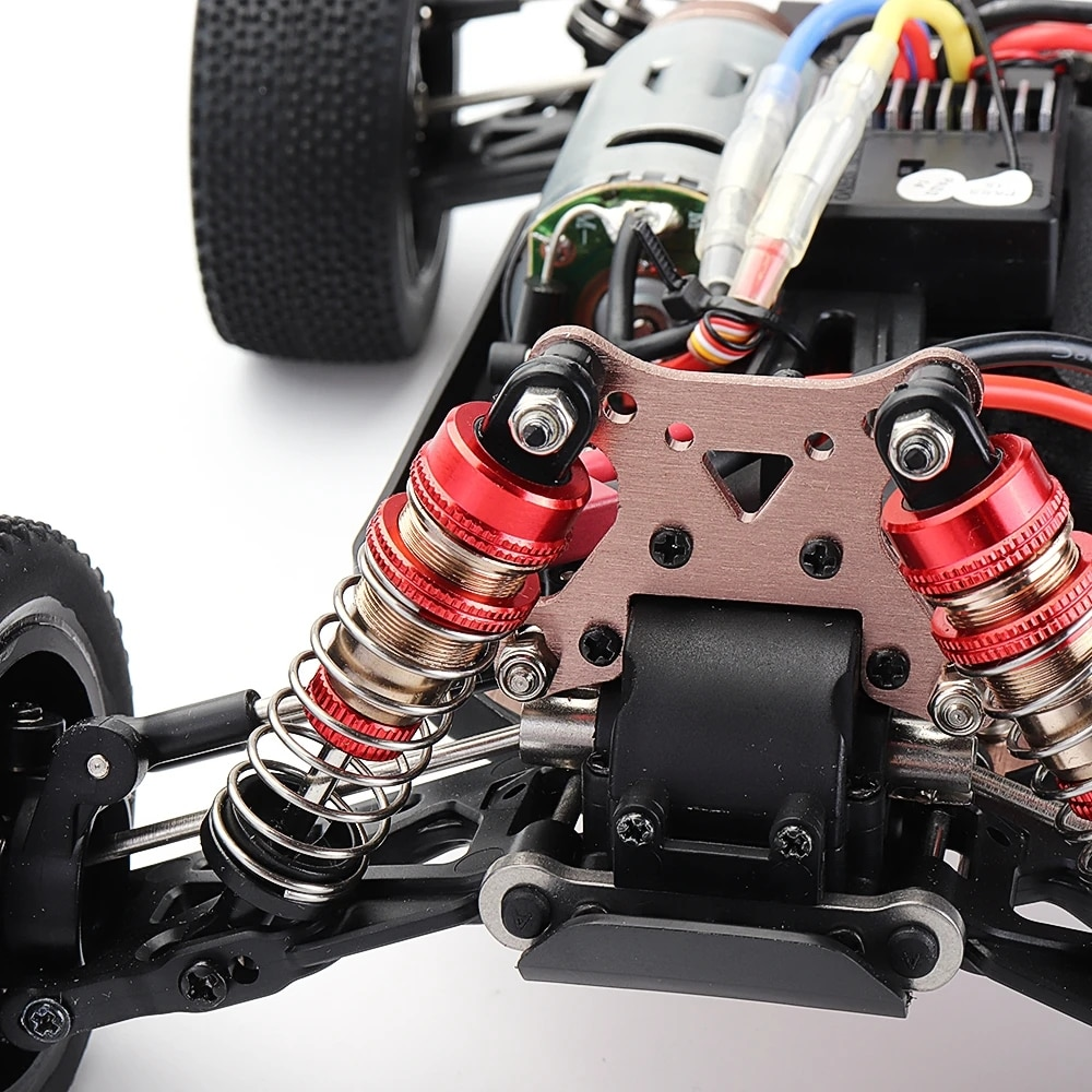 Professional 1:10 Remote Controlled Racing RC Car Radio Cars Competition 60KM High-speed Nitro Alloy Body Chassis Control Toy enlarge