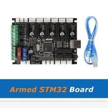 1pc armé STM32 carte Marlin 2.0 Arduino 3D imprimante 32bit carte mère pour bricolage Prusa I3 MK3S MMU2s 3D imprimante pièces