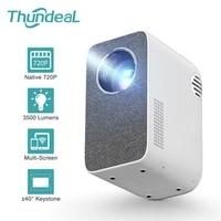 ThundeaL     Mini projecteur HD TD855  3500 Lumen     40     WiFi  multi-ecrans  pour videos 1080P  Home cinema 3D