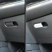 for bmw mini one cooper s jcw f54 f55 f56 f60 car glove box decoration handle 3d sticker car styling modification accessories