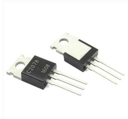 Módulo de potencia 2SC2078 C2078 TO-220 diodo FET 2 uds