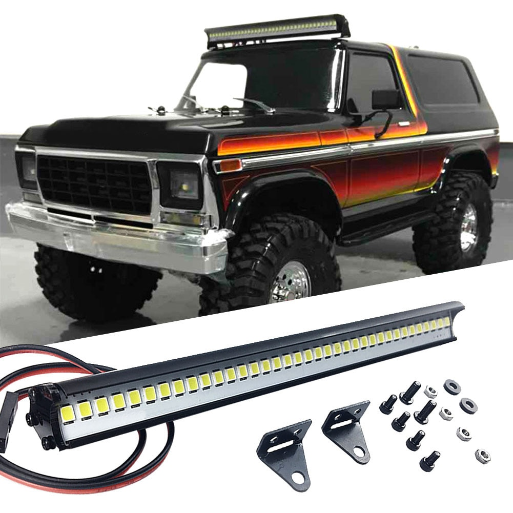 DIY Kids Toy Home Replacement Parts RC Car 150mm Practical Crawler LED Light Bar Gifts Easy Install