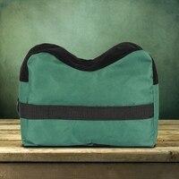 Portable Sport Front Rear Rest Bag Set Unfilled Stand