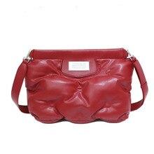 2021 new tide cloud shoulder bag space cotton lazy pillow bag down handbag large capacity female bag